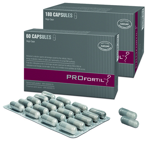 PROfortil™ is a clinically proven treatment for male fertility disorders that contains d a patented ansynergistic composition of micronutrients. The effectiveness of PROfortil™ has been proven in five studies1-5.